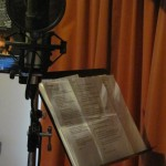 Vocal nook, front room