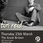 Tim Reid GB Poster